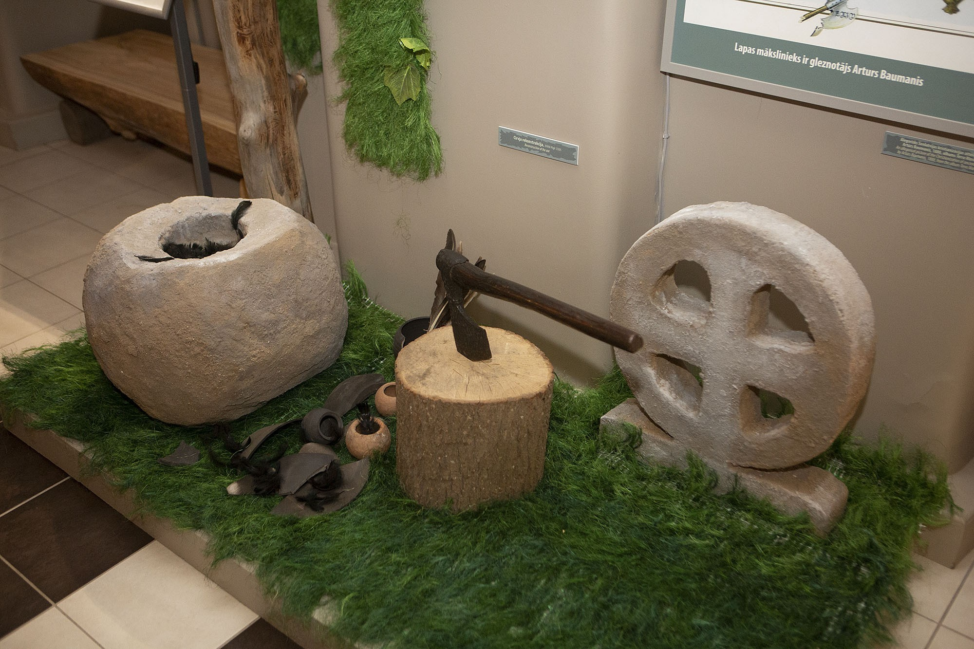 Museum has renewed the prehistoric and medieval exhibition