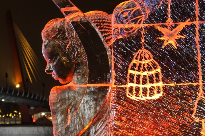 21st International Ice Sculpture Festival in Jelgava Will Be Everything Cinema