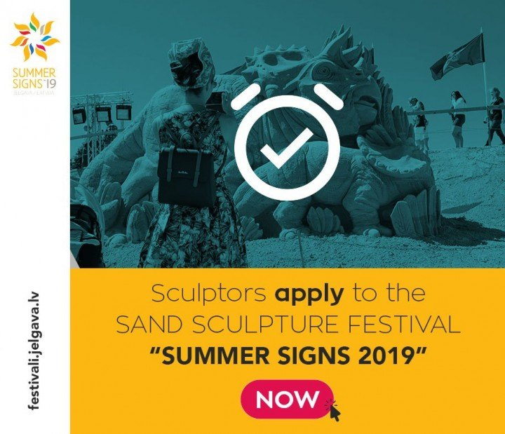 "Application to participate in 13th International Sand Sculpture Festival ""Summer Signs 2019"""