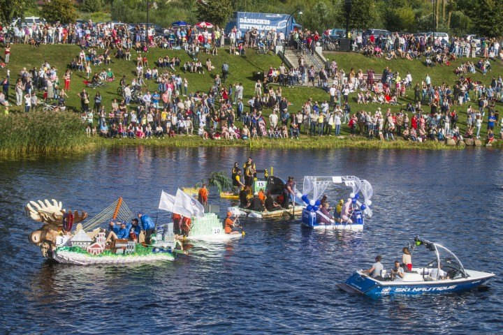 """Sign up your team for the 17th """"Baltais"""" Milk Pack Boat Regatta"""
