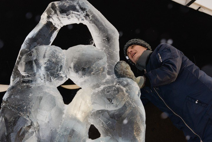Sculptors are invited to participate in XXII International Ice Sculpture festival